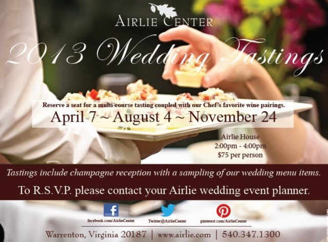 airlie center tasting event